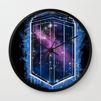 Time, Space, And Graffit… Wall Clock