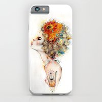 iPhone Cases featuring Suriah by Charmaine Olivia