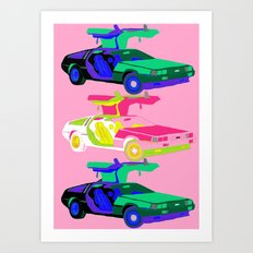 OMG it's time to travel Art Print