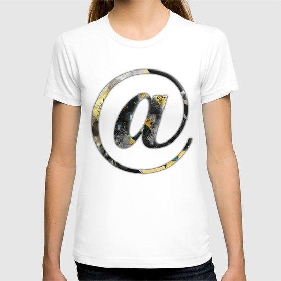 At Sign {@} Series - Baskerville Typeface T-shirt
