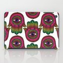 Hamsa: Made by a rainbow iPad Case