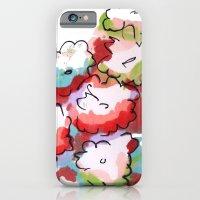Saturated Flowers iPhone 6 Slim Case