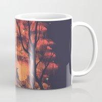 Burning In The Skies Mug