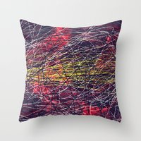 A Lapse In Time Throw Pillow