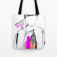MADE FOR NYC Tote Bag