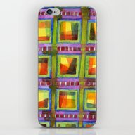 Light Behind Colourful G… iPhone & iPod Skin