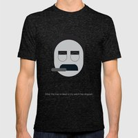 FC - Groucho Mens Fitted Tee Tri-Black SMALL