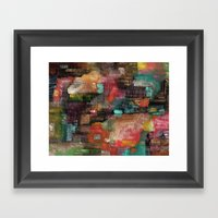 Abstract 77 Framed Art Print