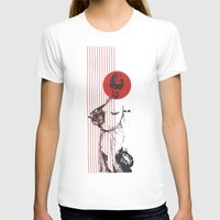 The Bath Womens Fitted Tee White SMALL