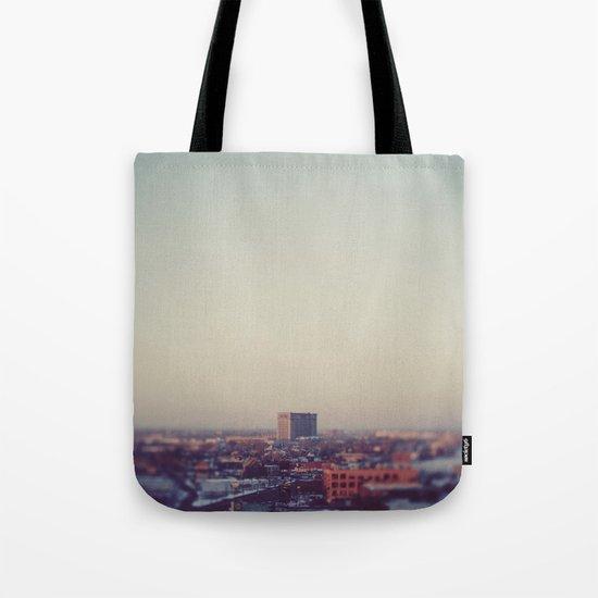Morning Over Detroit Tote Bag