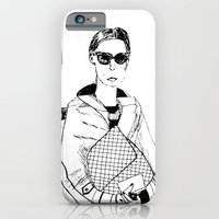 iPhone & iPod Case featuring Bag Lady by Julianne Ess
