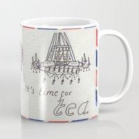 A Parisian, British Tea Mug