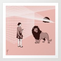 Art Print featuring Somnambulism by Wolves In Space