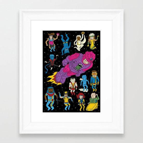 X-Men Alive! Framed Art Print