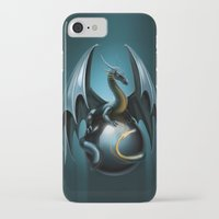 dragon iPhone & iPod Cases featuring dragon by Antracit