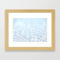 Blue Nature Framed Art Print