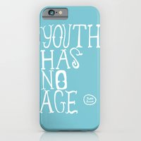 iPhone & iPod Case featuring Youth Has No Age (Blue) by Summer Ordoñez