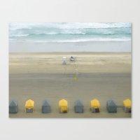 Little Cabanas Canvas Print