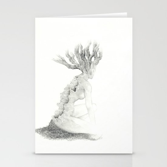 Sleeping Forest Stationery Card