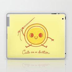 Cute as a button! Laptop & iPad Skin