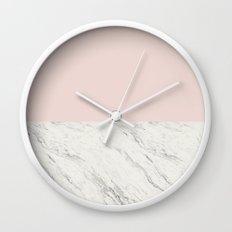 Moon Marble Wall Clock