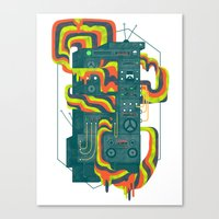 Magic Stereo Canvas Print