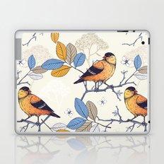 Birdie Pattern Laptop & iPad Skin