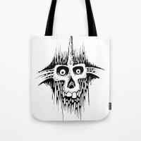 Skully Line Tote Bag