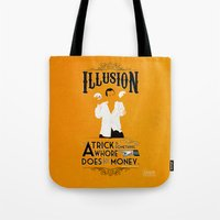 """Tote Bag featuring Arrested Development G.O.B. """"Trick?"""" by Tom Ryan's Studio"""