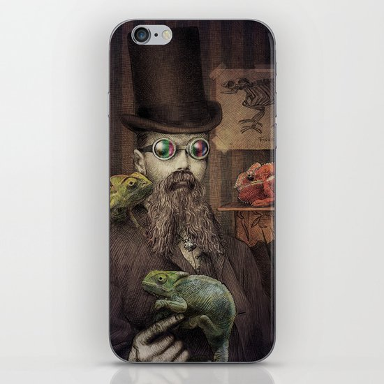 The Chameleon Collector iPhone & iPod Skin