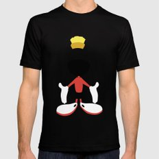 Looney Toons - Marvin the Martian Mens Fitted Tee Black SMALL