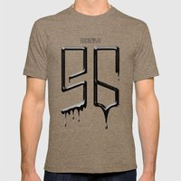 S6 TEE BLACK PAINT Mens Fitted Tee Tri-Coffee SMALL