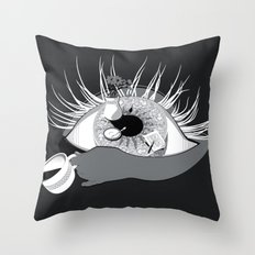 Nice Cup of Tea Throw Pillow