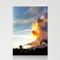 paradise Cloud Stationery Cards