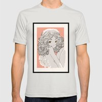 Engelchen Mens Fitted Tee Silver SMALL