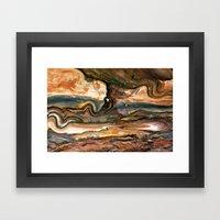 Petra's Paint Framed Art Print