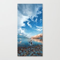 These young dreams are all we breathe Canvas Print