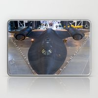 Sr71-Blackbird At The Du… Laptop & iPad Skin