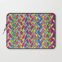 Rainbow Braids Laptop Sleeve