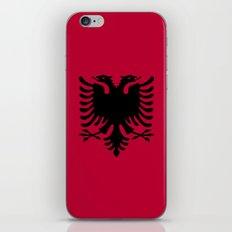 Albania Flag iPhone & iPod Skin