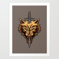 Golden: Survivor  Art Print