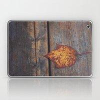 vintage leaf. Laptop & iPad Skin