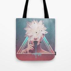 dark flower Tote Bag
