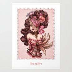 Marquise Art Print