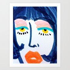 Mod Girl Art Print