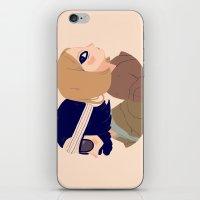 Margot and Richie iPhone & iPod Skin