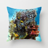 Yapı Throw Pillow