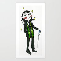 Loki (in Suit) (the Avengers) Art Print