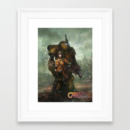 Partners in Time  Framed Art Print