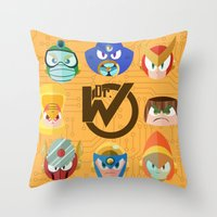 Mega Man 2 Throw Pillow